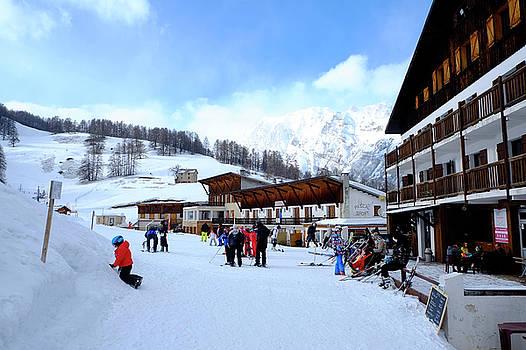 Alps Ski Piste by August Timmermans