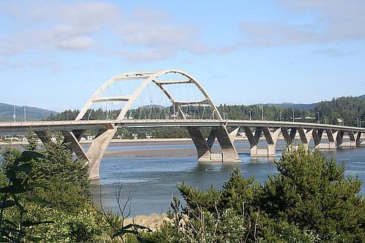 Alsea Bridge BR 7002 by Mary Gaines