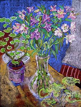 Alstoemeria Arranged by Bernice Grundy