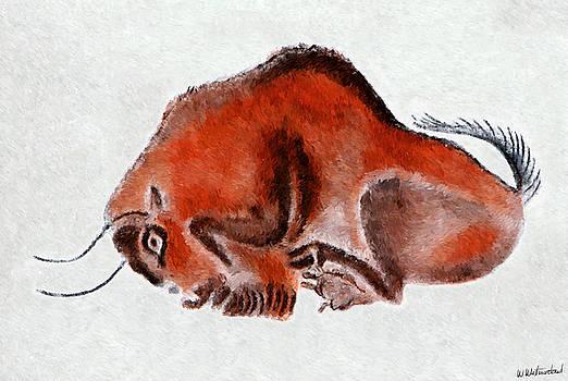 Weston Westmoreland - Altamira Prehistoric Bison at rest