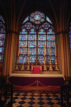 Altar in Notre Dame  by Paul Pobiak