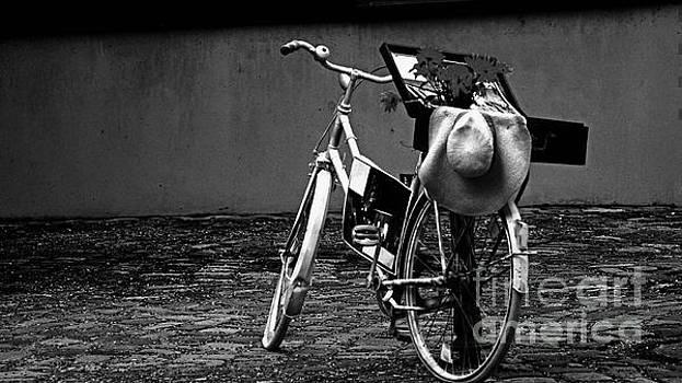Altes Fahrrad Old Bicycle by Eva-Maria Di Bella