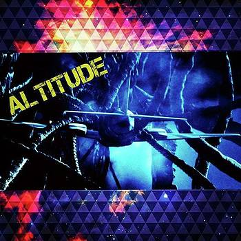 altitude Was An Awesome, Strange by XPUNKWOLFMANX Jeff Padget