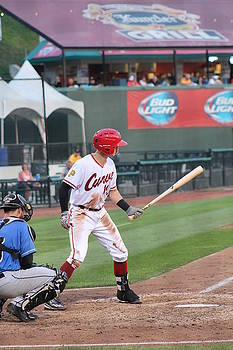 Altoona Curve Kevin Newman by Valerie Chamberlin