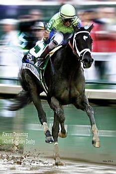 Always Dreaming, Johnny Velasquez, 143rd Kentucky Derby  by Thomas Pollart