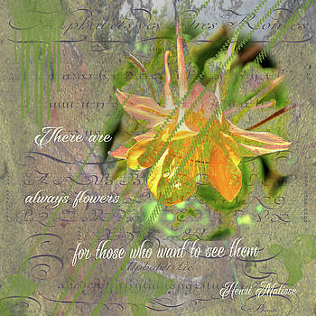Always Flowers by Nadine Berg