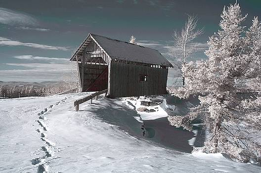 A.M. Foster Covered Bridge Infrared by James Walsh