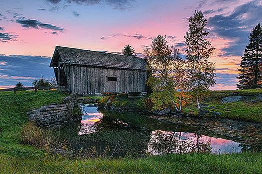 Expressive Landscapes Fine Art Photography by Thom - A.M. Foster Covered Bridge