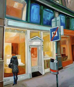 Am Graben by Carmen Stanescu Kutzelnig
