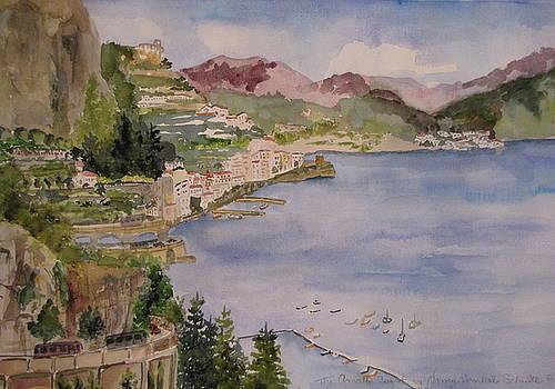 Amafi Coast by Nancy Henkel Schulte