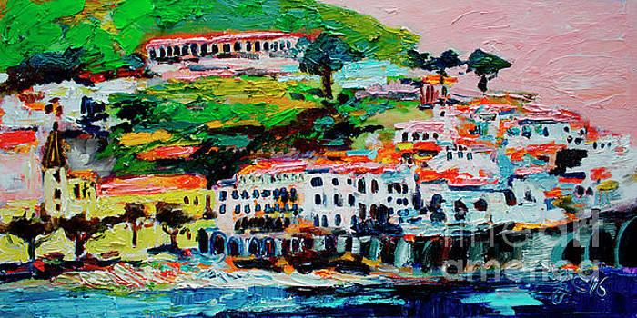 Ginette Callaway - Amalfi Coast and Pink Sky