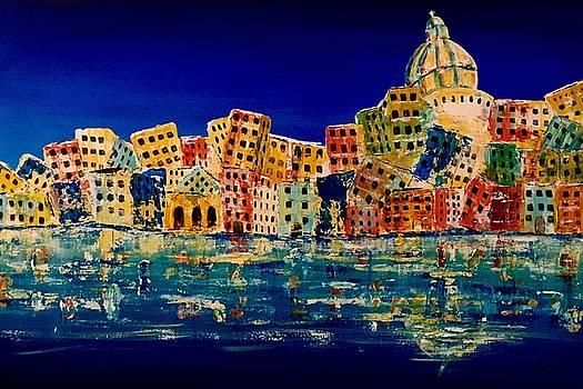 Amalfi Coast two by Julee Nicklaus