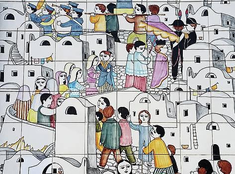 Amalfi Street Art 2 by Joseph Hendrix