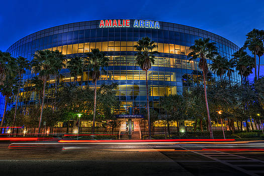 Amalie Arena 2 by Marvin Spates