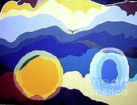 Amandas Abstract by Barbara Lemley