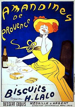 Amandines de Provence, poster by Leonetto Cappiello, 1900 by Vintage Printery