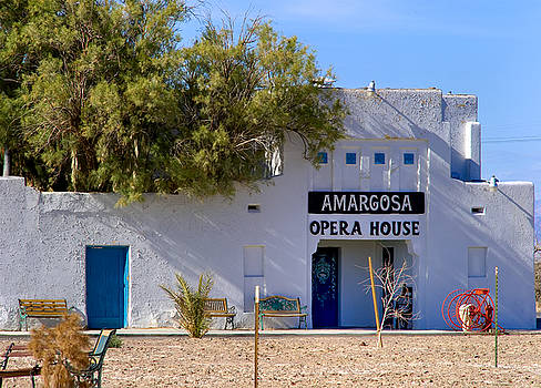 Amargosa Opera House by Tomasz Dziubinski