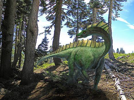 Frank Wilson - Amargosaurus In Forest