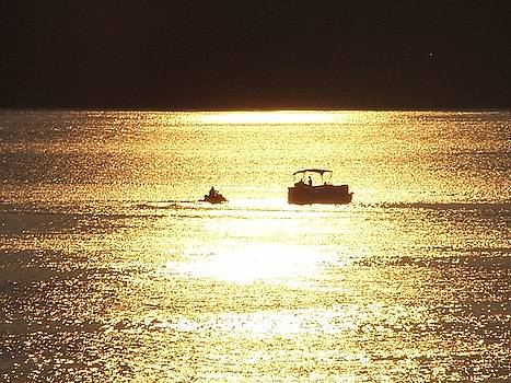 Amazing Golden Sunset by Mike Hazelwood