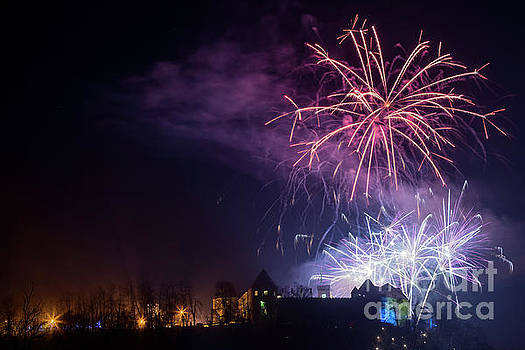 Vyacheslav Isaev - Amazing New Year fireworks in Lujbljana, 2017