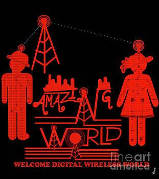 Amazing World by Artist Nandika Dutt