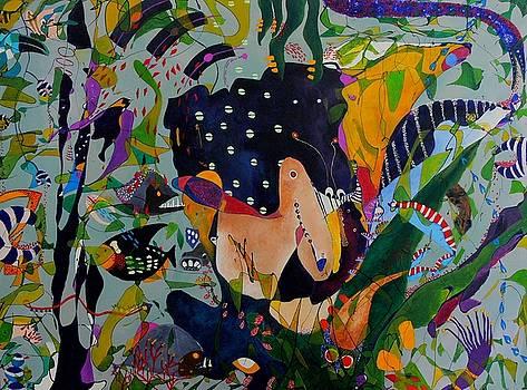 Nature Green Unconscious by Daniel Martinez