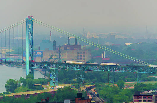 Ambassador Bridge by Winnie Chrzanowski