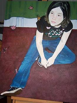 Amber at 15 by Sherri Ward