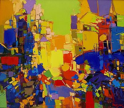 Amber Blues by Oleh Bezyuk