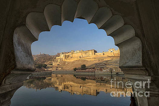 Amber Fort Reflection by Yew Kwang