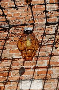 Amber Lamp by Catherine Amsden