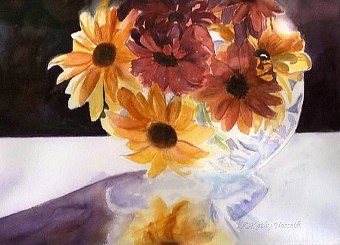 Amber Mums by Kathy Nesseth