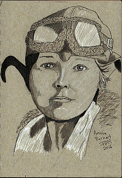 Amelia Earhart by Frank Middleton