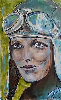 Amelia Earhart by Nancy Hilliard Joyce
