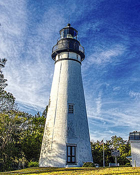 Paula Porterfield-Izzo - Amelia Island Lighthouse