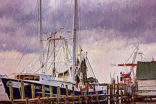 Amelia Island Wharf by Barry Jones