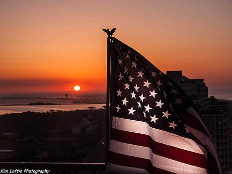 America . by Kim Loftis