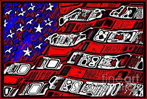 American Abstract  by Mark Moore