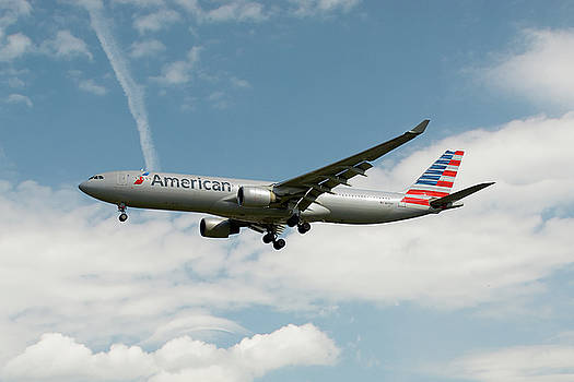 American Airlines Airbus A330-323 by Nichola Denny