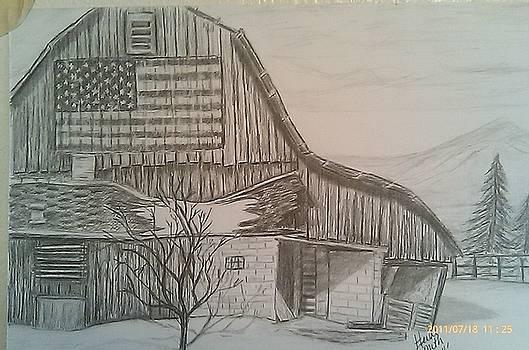American Barn by Heidi Smith