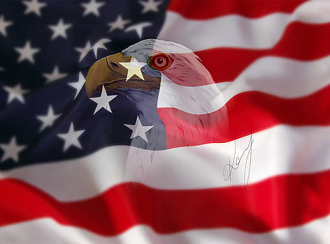 American bird by Jarek Kossman