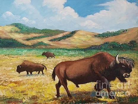 American Bison by Jean Pierre Bergoeing