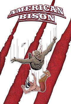 American Bison poster 1 by Steve Benton