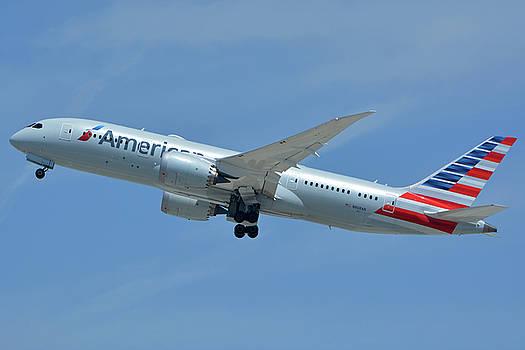 American Boeing 787-8 N808AN Los Angeles International Airport May 3 2016 by Brian Lockett