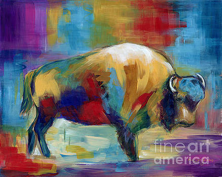 American Buffalo by Marilyn Dunlap