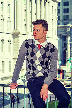 Alexander Image - American College Student Studying in New York.