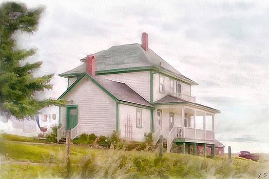 American farmhouse by Sergey Lukashin