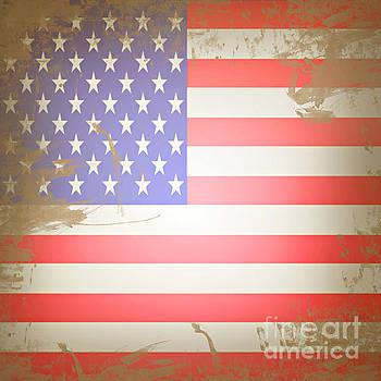 Sophie McAulay - American flag