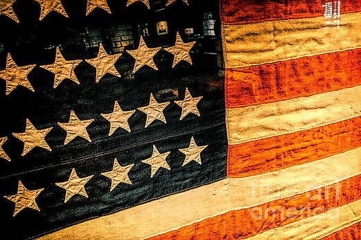 American Flag Stars Strips by Kip Krause