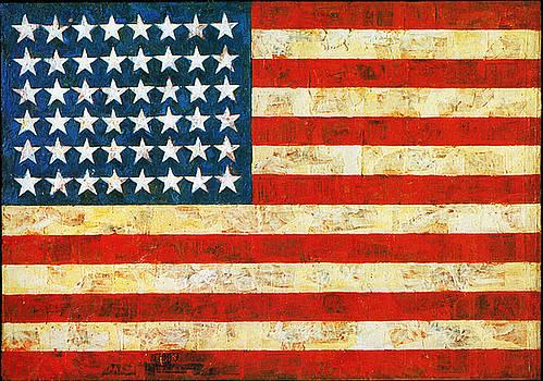 American Flag by Virginia Vivier